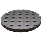 Fabreeka Anti-Vibration Pad 2311165 300psi 150 (Dia.) x13mm 13mm