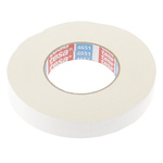 Tesa 4651 Acrylic Coated White Duct Tape, 25mm x 50m, 0.31mm Thick