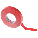 Tesa 4651 Acrylic Coated Red Duct Tape, 25mm x 50m, 0.31mm Thick