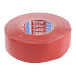 Tesa 4651 Acrylic Coated Red Duct Tape, 50mm x 50m, 0.31mm Thick