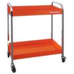 Bahco 2 Shelf Aluminium Workshop Trolley, 759 x 432 x 1025mm, 30 (per shelf)kg Load