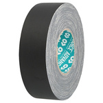 Advance Tapes AT160 Matt Black Cloth Tape, 15mm x 50m, 0.33mm Thick