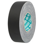 Advance Tapes AT160 Matt Black Cloth Tape, 25mm x 50m, 0.33mm Thick