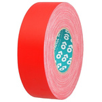 Advance Tapes AT160 Matt Red Cloth Tape, 25mm x 50m, 0.33mm Thick