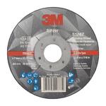 3M Silver T27 Silver Ceramic Grinding Wheel, 115mm Diameter