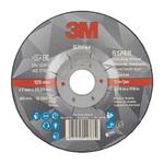 3M Silver T27 Silver Ceramic Grinding Wheel, 125mm Diameter