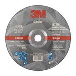 3M Silver T27 Silver Ceramic Grinding Wheel, 230mm Diameter