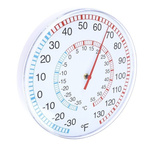 RS PRO Wall Mount Dial Thermometer -33 → +55 °C