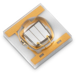 15335337AA350 Wurth Elektronik, WL-SUMW Series UV LED, 365nm 700mW 130 °, 2-Pin Surface Mount package