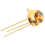 BP 103 Osram Opto, 110 ° IR + Visible Light Phototransistor, Through Hole 3-Pin TO-18 package