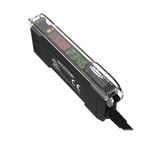 Banner Fibre Amplifier, PNP, Push Pull Output IO-Link, 960 mW, IP50, 10 → 30 V dc