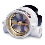 Gems Sensors RFO Series RotorFlow Electronic Flow Sensor, 1.5 gal/min → 20 gal/min