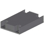 Heatsink, 1/4 Brick DC/DC Converter, 58 x 37 x 6mm, Screw