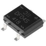 Diodes Inc DF04S-T, Bridge Rectifier, 1A 400V, 4-Pin DF-S