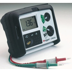 Megger LTW325-EU-BS Loop Impedance & RCD Combined Tester, Loop Impedance Test Type 2 Wire 440V, RCD Test Type AC