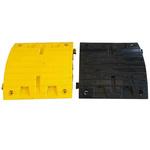 RS PRO Black, Yellow Rubber Speed Bump Asphalt Fixation Bolt, 500mm 500 mm 70 mm