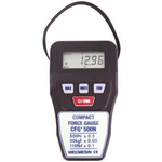 Mecmesin CFG+500 Force Gauge 500Hz RS232, Range: 500N, Resolution: 0.5 N, With RS Calibration