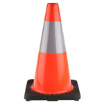 RS PRO Weighted 450 mm Traffic Cone