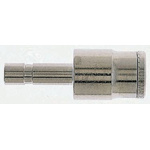 Norgren Tube-to-Tube PNEUFIT Pneumatic Straight Tube-to-Tube Adapter, Plug In 4 mm to Push In 6 mm