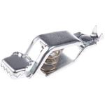 Mueller Crocodile Clip, Zinc-Plated Steel Contact, 40A