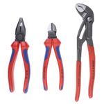 Knipex Chrome Vanadium Steel Pliers Plier Set, 305 mm Overall Length