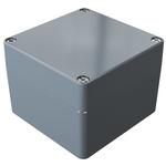 Rose Aluminium Standard, Grey Die Cast Aluminium Enclosure, IP66, 122 x 120 x 90mm Lloyds Register, Maritime Register,