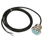 Pepperl + Fuchs M30 x 1.5 Inductive Sensor - Barrel, PNP Output, 10 mm Detection, IP67, Cable Terminal