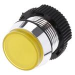 Signal Construct Yellow Indicator, Tab Termination, 24 → 28 V, 16mm Mounting Hole Size