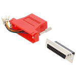 MH Connectors D-sub Adapter Male 25 Way D-Sub to Female RJ45