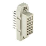 TE Connectivity RP300 Series, 21 Way Rectangular Connector Socket