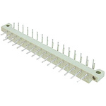 ASSMANN WSW 5mm Pitch 13 Way 2 Row Right Angle Male DIN 41617 Connector, Solder Termination, 2A