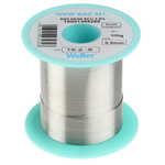 Weller 0.5mm Wire Lead Free Solder, +217°C Melting Point