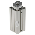 SMC Pneumatic Guided Cylinder 25mm Bore, 50mm Stroke, CQM Series, Double Acting