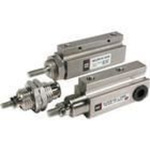 Pin Cylinder, Single Acting Single Rod, Series CJP 6mm bore 5mm stroke