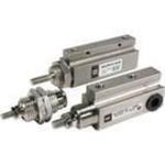Pin Cylinder, Single Acting Single Rod, Series CJP 4mm bore 5mm stroke