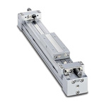 SMC Double Acting Rodless Actuator 350mm Stroke, 25mm Bore