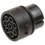 Female Connector Insert 8 Way for use with Mini Buccaneer Connector