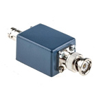 RS PRO BNC Female to Male Test Box, 2 Connectors, Blue