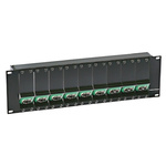 Neutrik Panel Frame, OpticalCON for use with OpticalCON 19 in Z-Panels