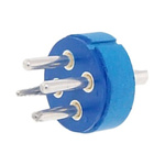 Male Connector Insert size 24 4 Way for use with 97 Series Standard Cylindrical Connectors