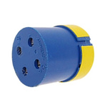 Female Connector Insert size 24 4 Way for use with 97 Series Standard Cylindrical Connectors