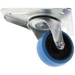 Flexello Swivel Swivel Castor, 90kg Load Capacity, 75mm Wheel Diameter