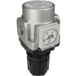 Air regulator Rc1/4 ported with 1/8 gauge port for low pressure setting