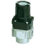 Modular air regulator G1/4 port with check valve and handle integrated pressure gauge + set but