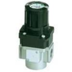 Modular air regulator G1/2 port with handle integrated pressure gauge + set nut