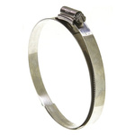 HI-GRIP Stainless Steel Slotted Hex Worm Drive, 13mm Band Width, 150mm - 180mm Inside Diameter