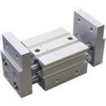 Parallel air gripper, wide opening type, rack and pinion, 32 mm bore, 120 mm stroke