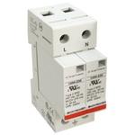 Bourns, 1250 415 V ac Maximum Voltage Rating 50kA Maximum Surge Current 2 Pole Protector, DIN Rail