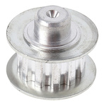 RS PRO Timing Belt Pulley, Aluminium 14.3mm Belt Width x 5.08mm Pitch, 12 Tooth