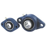 2 Hole Flanged Bearing, LFTC20A, 20mm ID